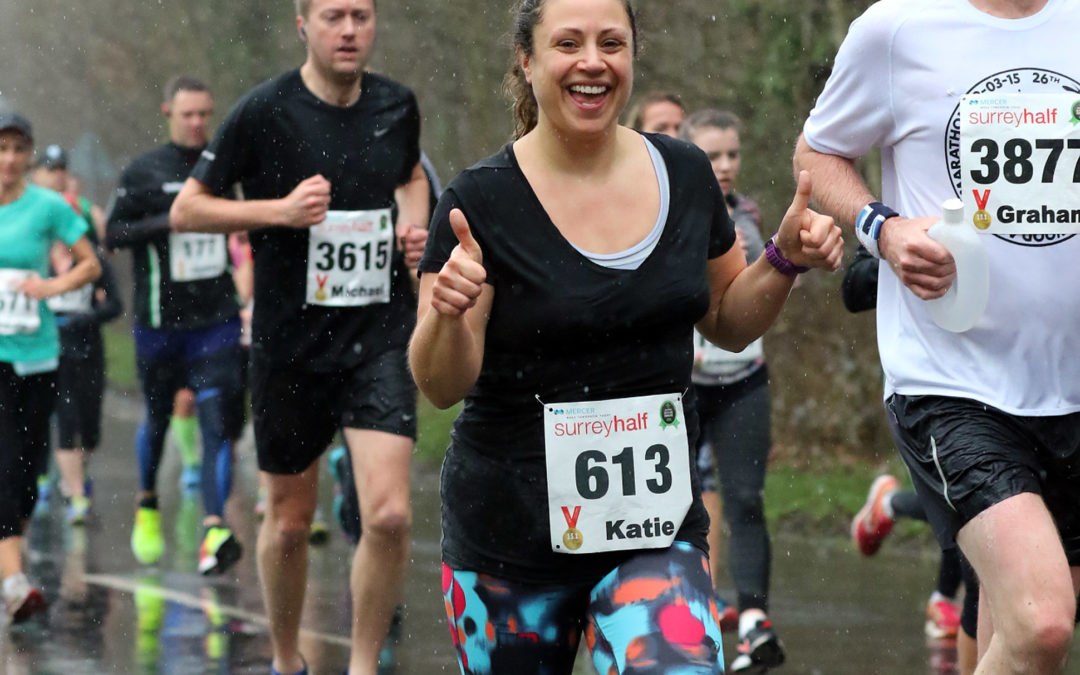 Katie Chance's guest blog – Training for the London Marathon