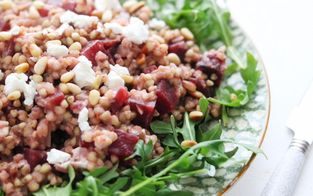 Buckwheat and Beetroot Risotto