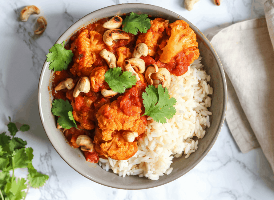 Slow Cooker Cauliflower Tikka Masala