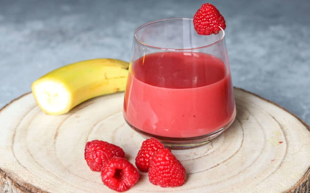Raspberry Protein Smoothie